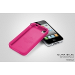 SGP iPhone 4 Case Ultra Silke Series [Fantasia Hot Pink]